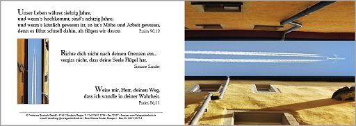 """Birnbacher Karten: """"Fliegen""""- Psalm 90,10"""