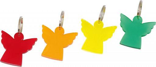 Schlüsselanhänger Engel Kunststoff