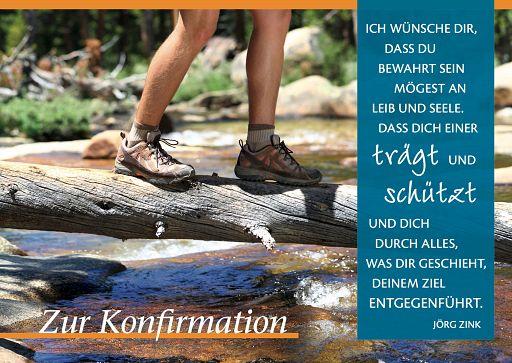 """Leipziger Konfirmationskarte """"Zur Konfirmation"""""""