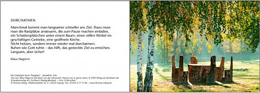 "Leipziger Karten ""Stuhl"""