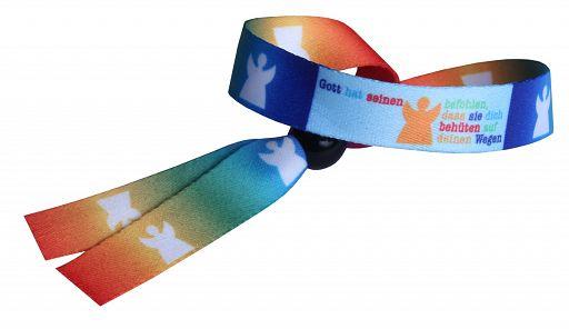 Armband / Umhängeband Engel, Regenbogen