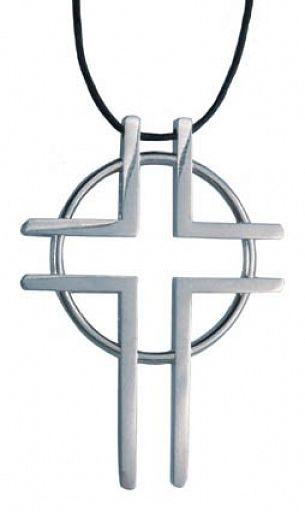 Anhänger Kreuz: Weg zum Leben