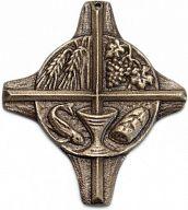 Großes Kreuz aus Bronze