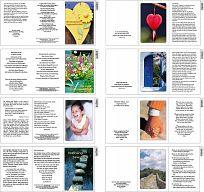 Sortiment Birnbacher Faltkarten, 14 Karten