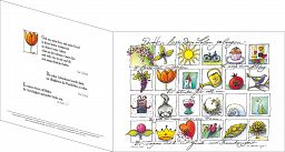 Umschlagkarte, Faltmappe - Konfirmation, Leben gelingen