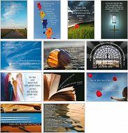 Schaukastenposter SET 4 - Bibelverse zur Schaukastengestaltung