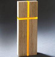 Licht-Kreuz aus Holz und Acrylglas