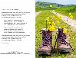 Urkunde zur Konfirmation - Dein Weg