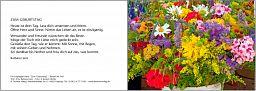 Leipziger Karte - Geburtstag